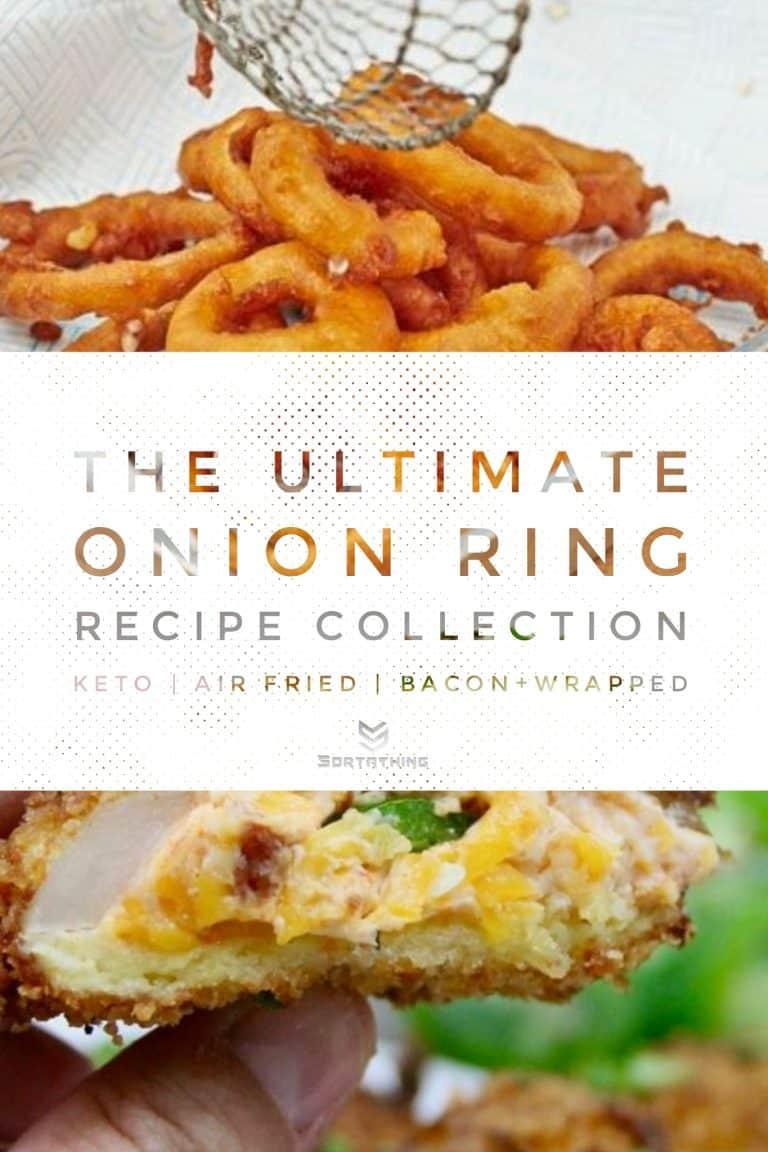 Pickled Onion Rings Recipe & Jalapeño Popper Stuffed Onion Rings