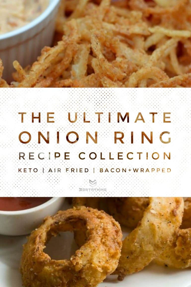 Onion Straws with Chipotle Pepper Aoili & Spicy Buttermilk Onion Rings