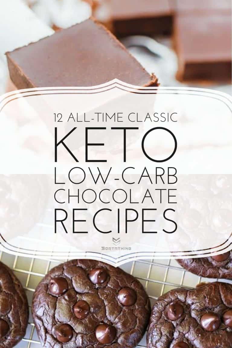 No-Bake Keto Chocolate Fudge & Soft & Chewy Keto Chocolate Cookies