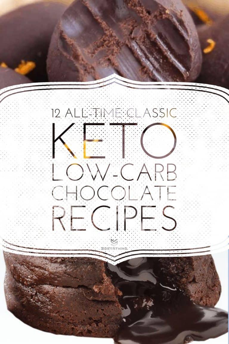 Keto Fudge Fat Bombs & Chocolate Keto Lava Mug Cake