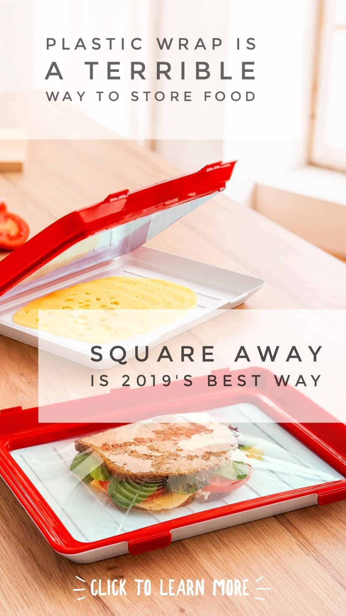 2019 Square Away Food Storage Containers Pin