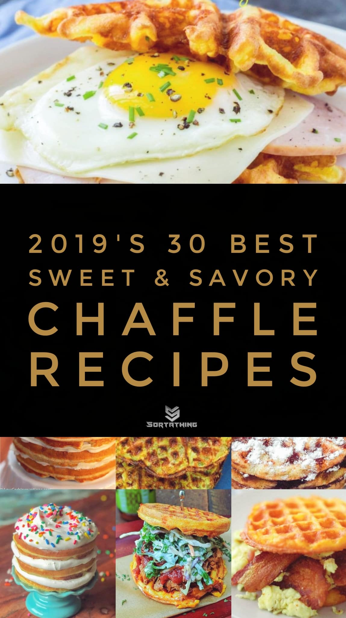 30 Best Chaffle Recipe - Sweet & Savory Keto Waffles