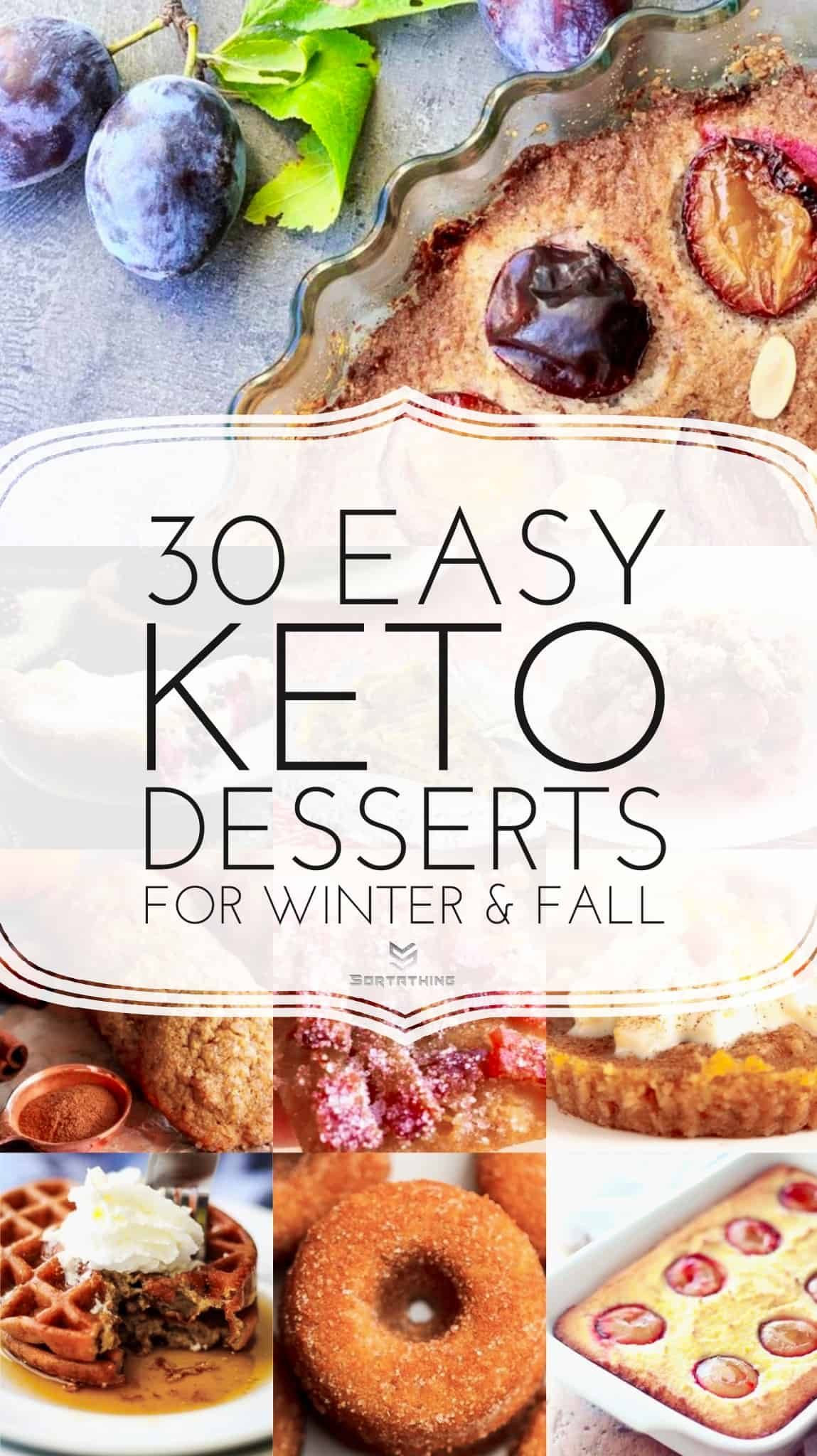 30 Easy Keto Dessert Recipes for Fall and Winter 2019
