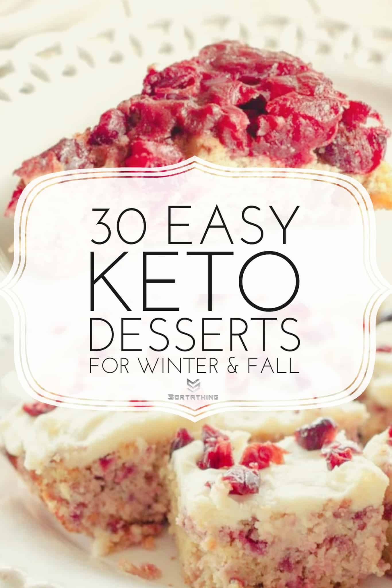 Keto Upside Down Cranberry Bread and Keto Cranberry Bliss Bars