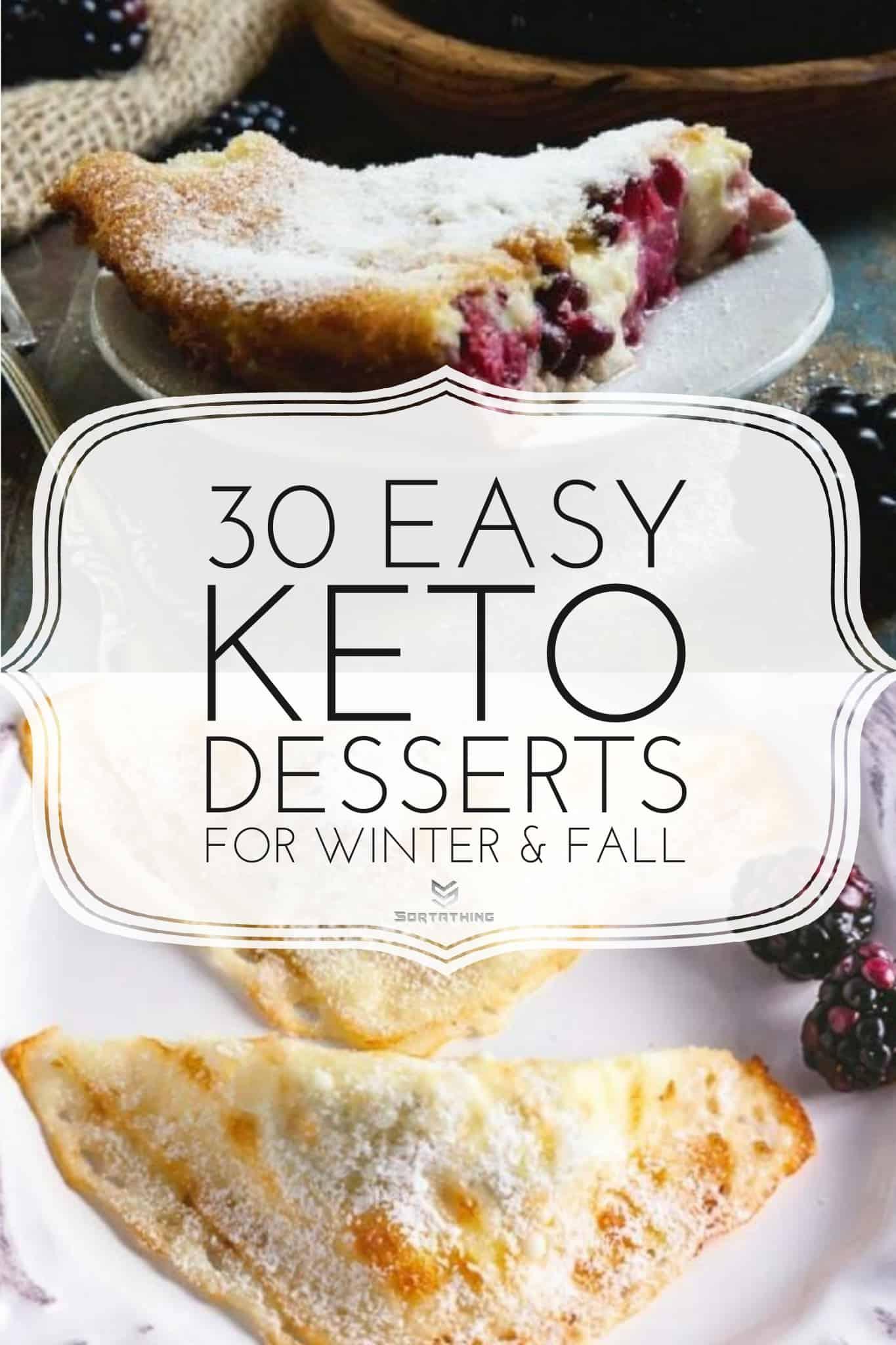 Easy Keto-Friendly Blackberry Clafoutis and Keto Blackberry Cheese Danish Turnovers
