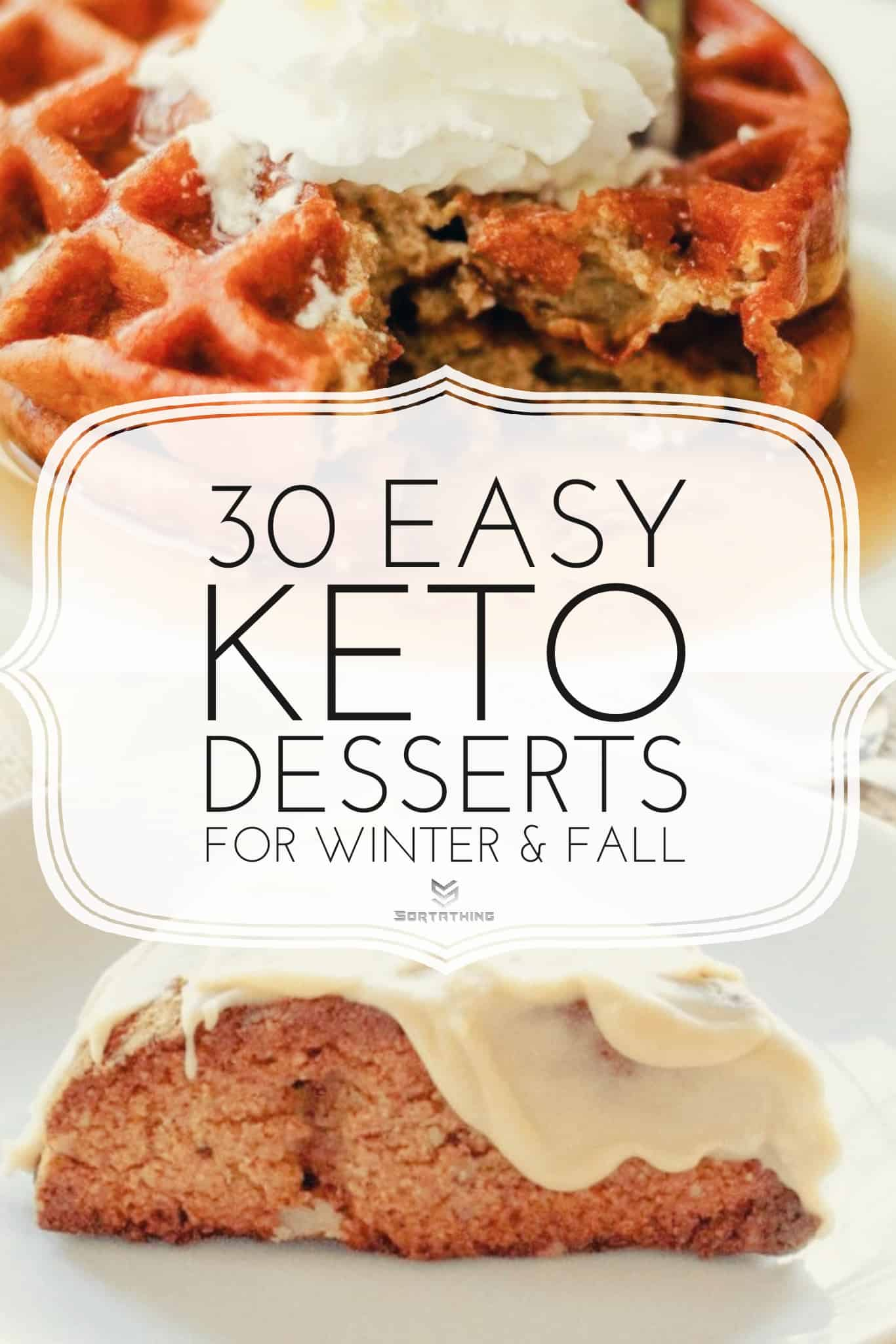 Maple Pumpkin Keto Waffle Recipe (Chaffle)and Maple Pecan Keto Scone