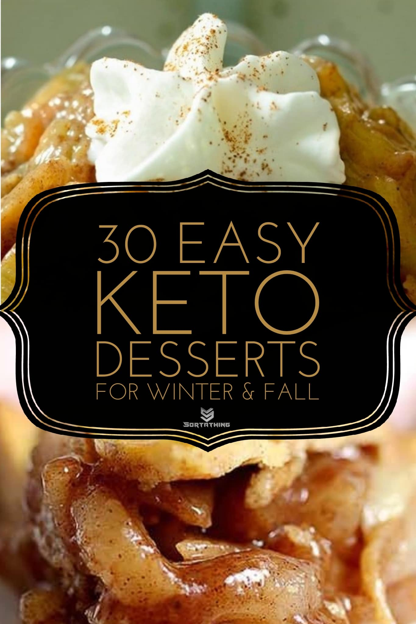 Keto Apple Pie Filling with Eggplant and The Best Keto Apple Pie with Chayote