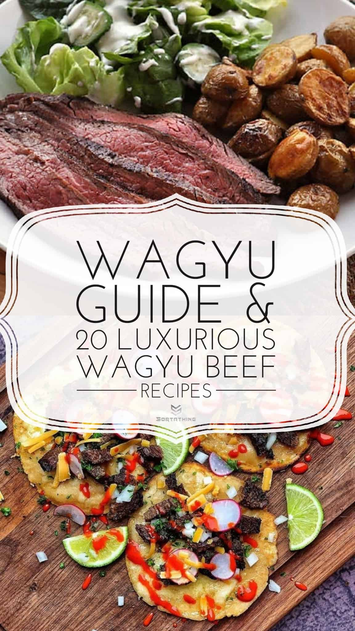 Sous Vide Wagyu Beef Flank Steak and Wagyu Tacos Recipe