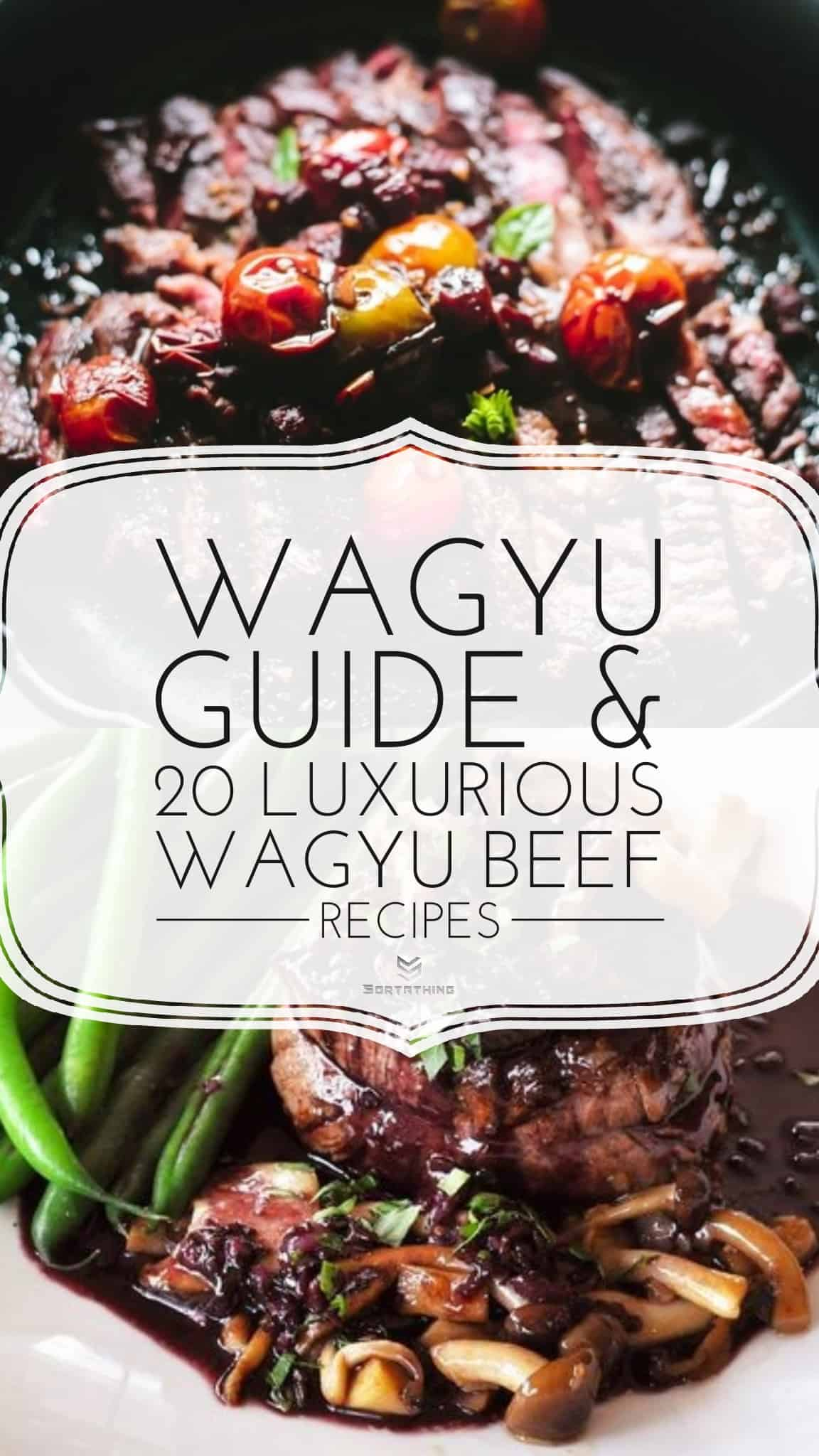 Wagyu Brisket and Wagyu Filet Mignon