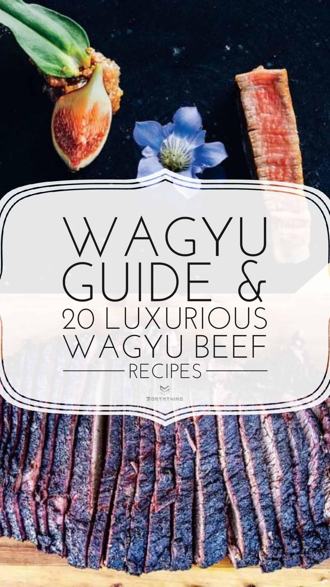 Grilled Wagyu Ribeye with Roasted Fig Miso and Smoked Wagyu Brisket