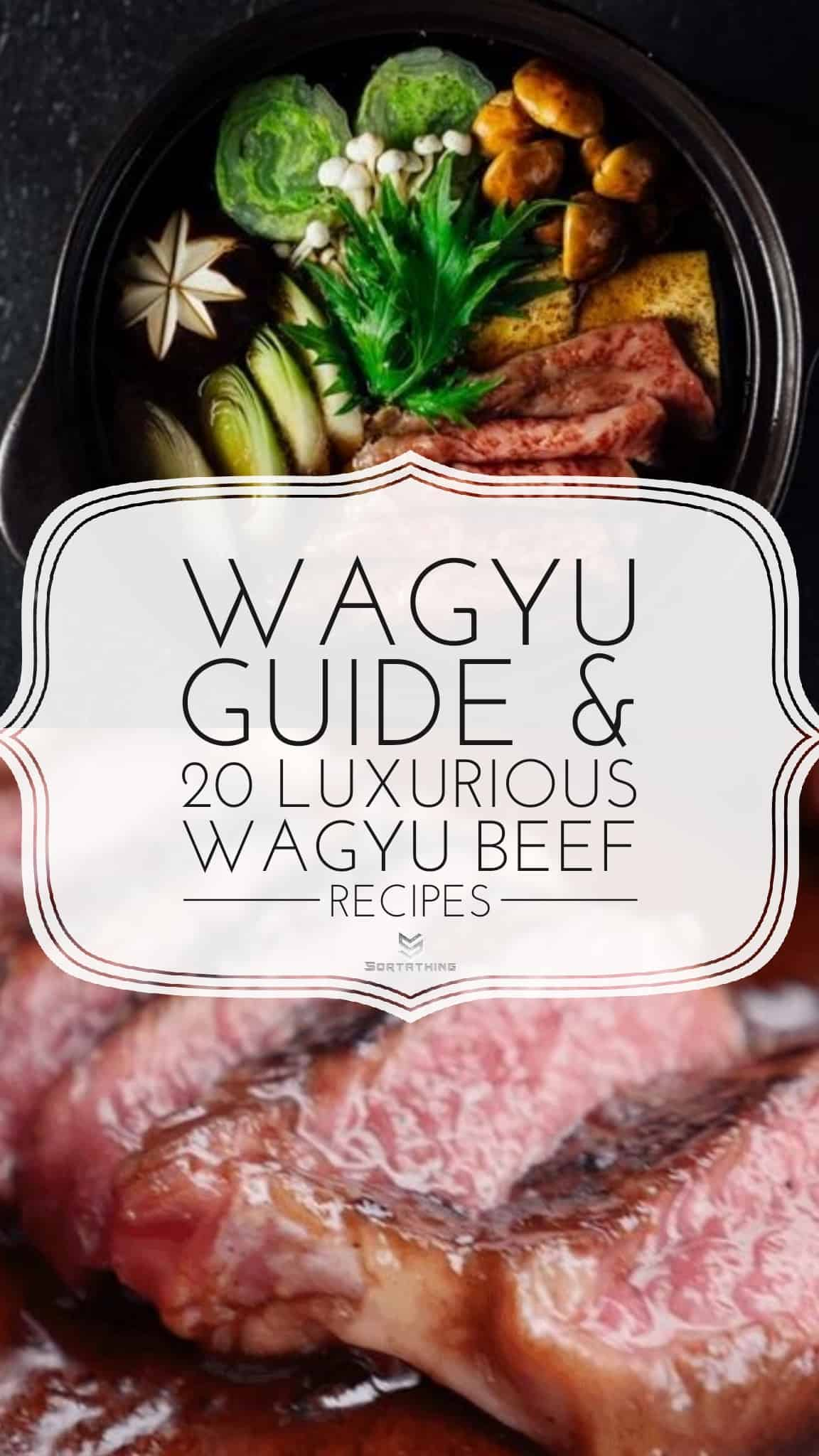 Wagyu Sukiyaki and Wagyu Grilled Beef Ribs