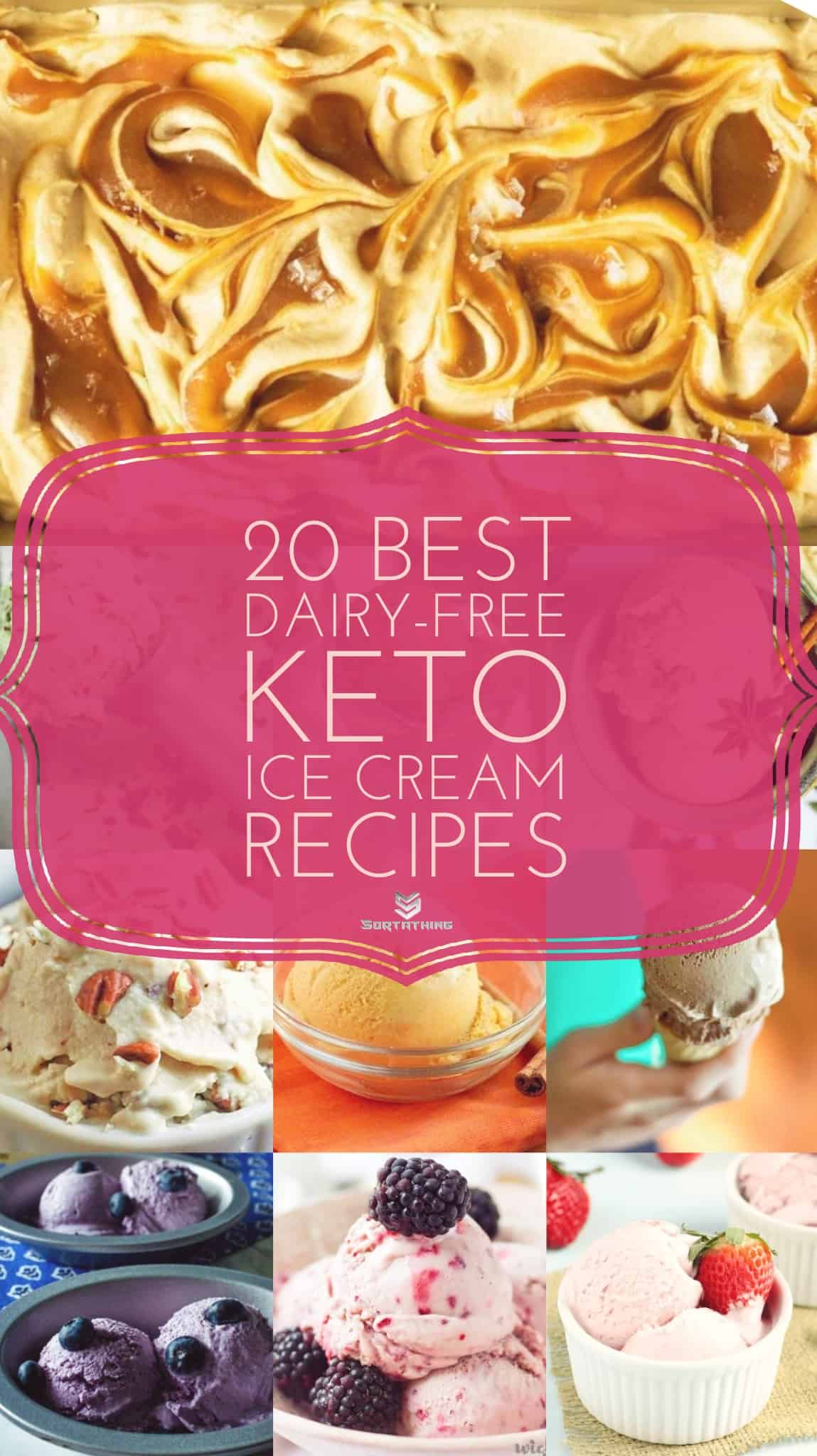20 Best Keto Dairy Free Ice Cream Recipes - Low Carb Vegan
