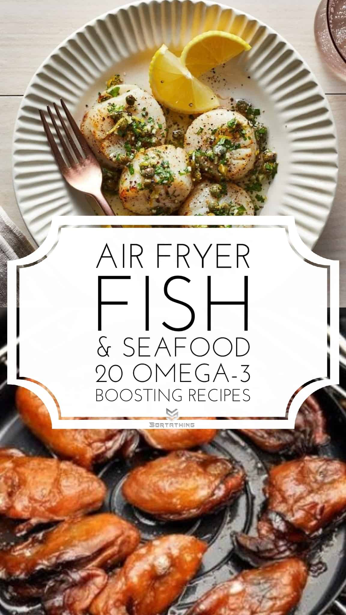 Air Fryer Scallops & Air Fryer Oysters Recipe