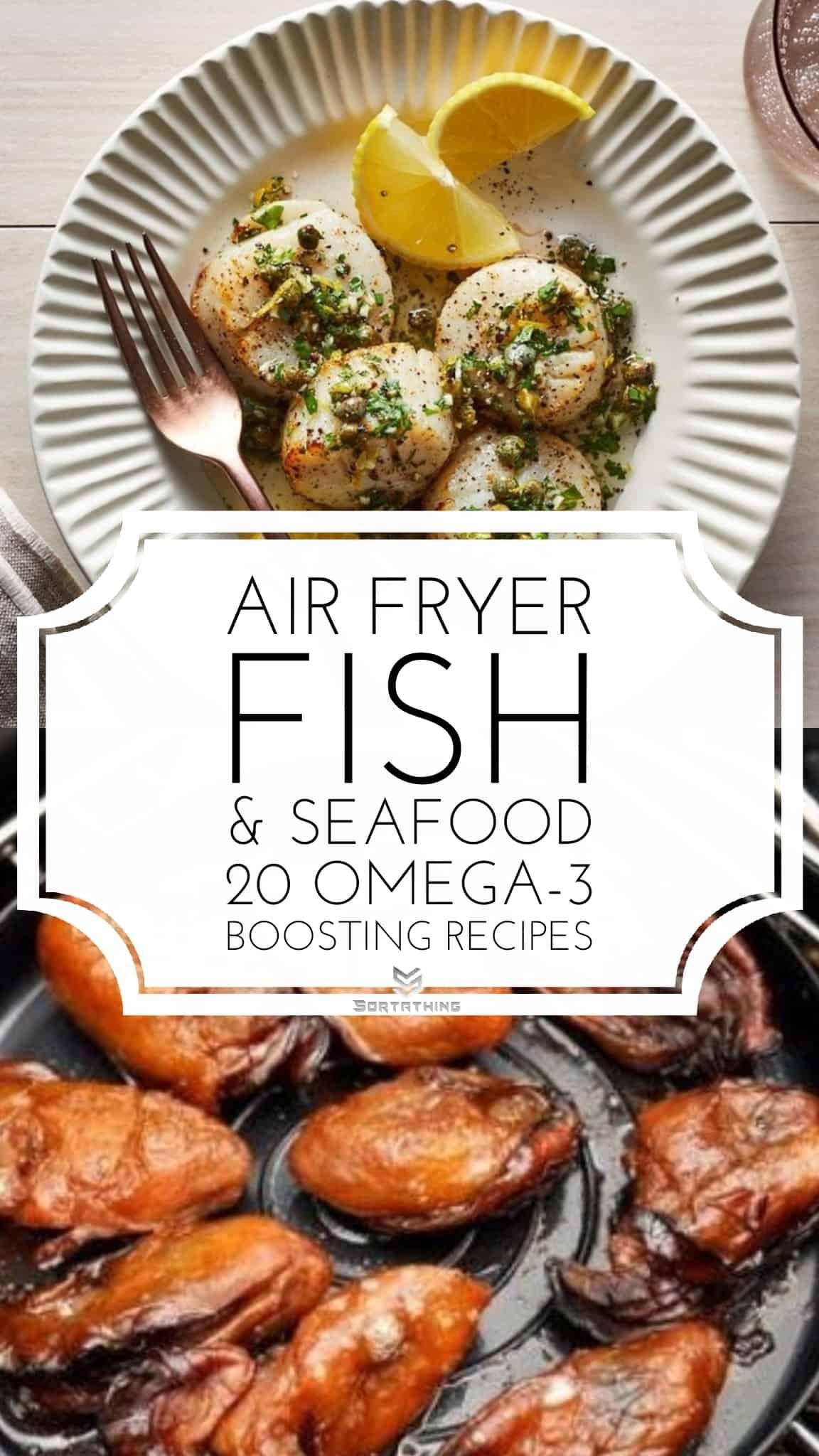 Air Fryer Scallops & Air Fryer Oysters Recipe