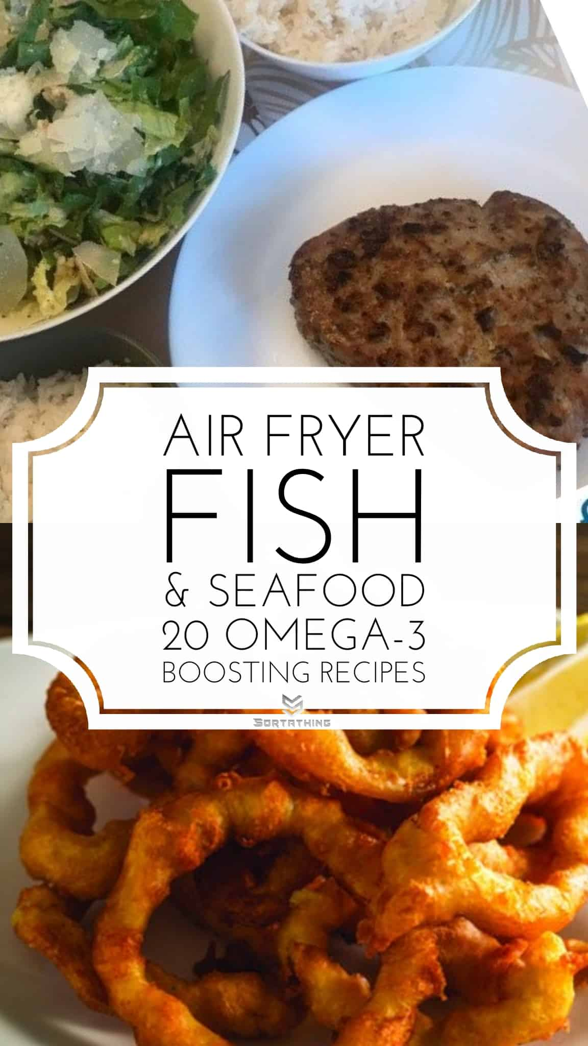 Air Fryer Tuna Steaks & Flourless Truly Crispy Air Fryer Calamari