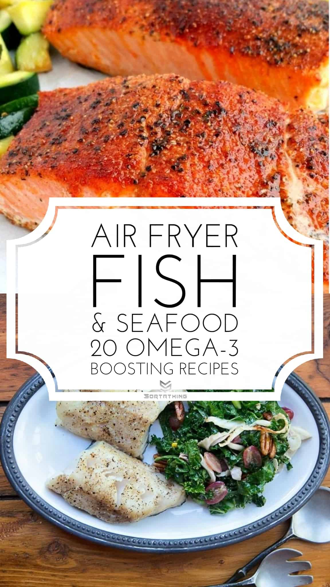 Perfect Air Fryer Salmon & Air Fryer Black Cod (Sablefish)