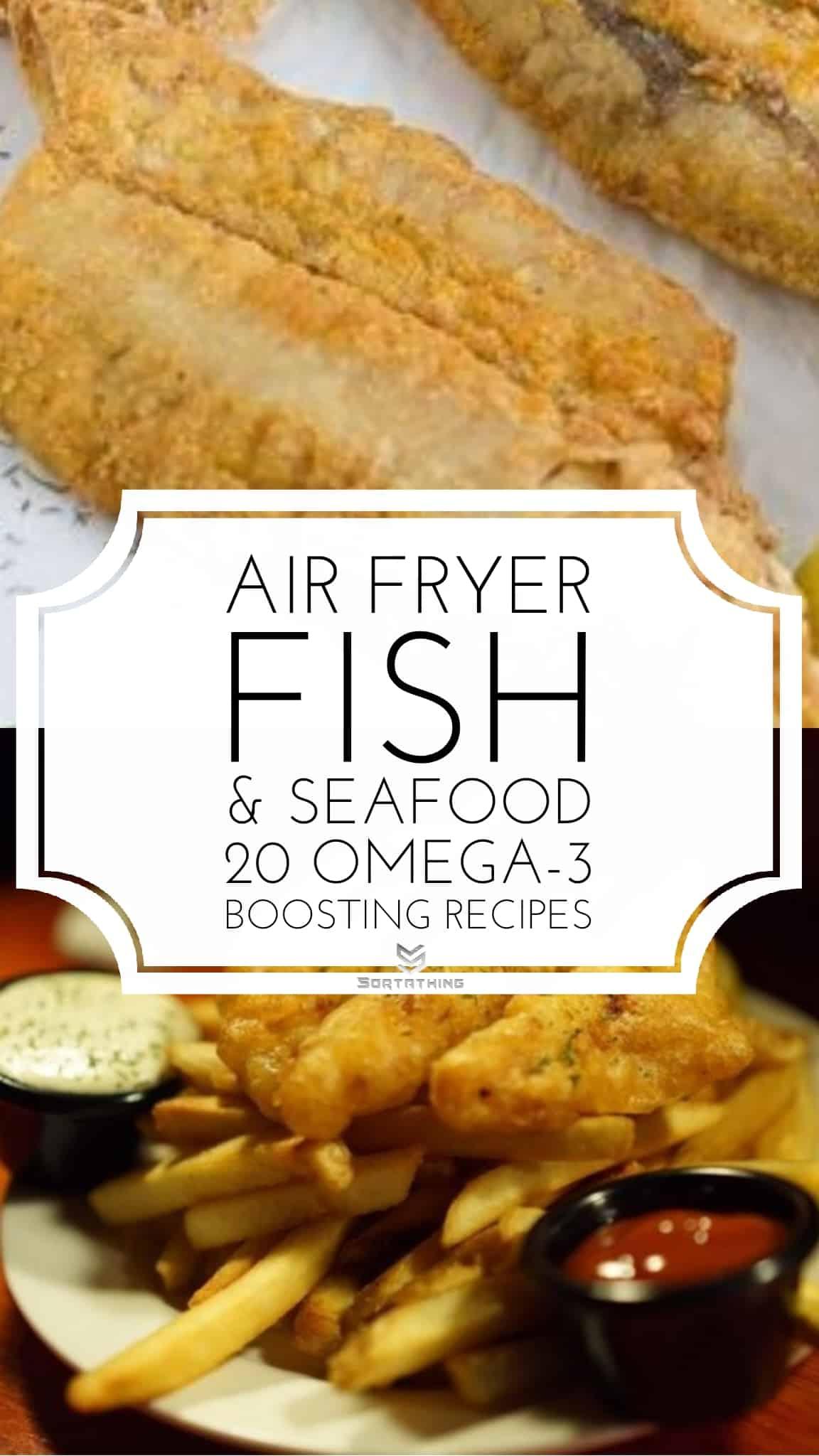 Crispy Air Fryer Fish & Air Fryer Fish & Chips