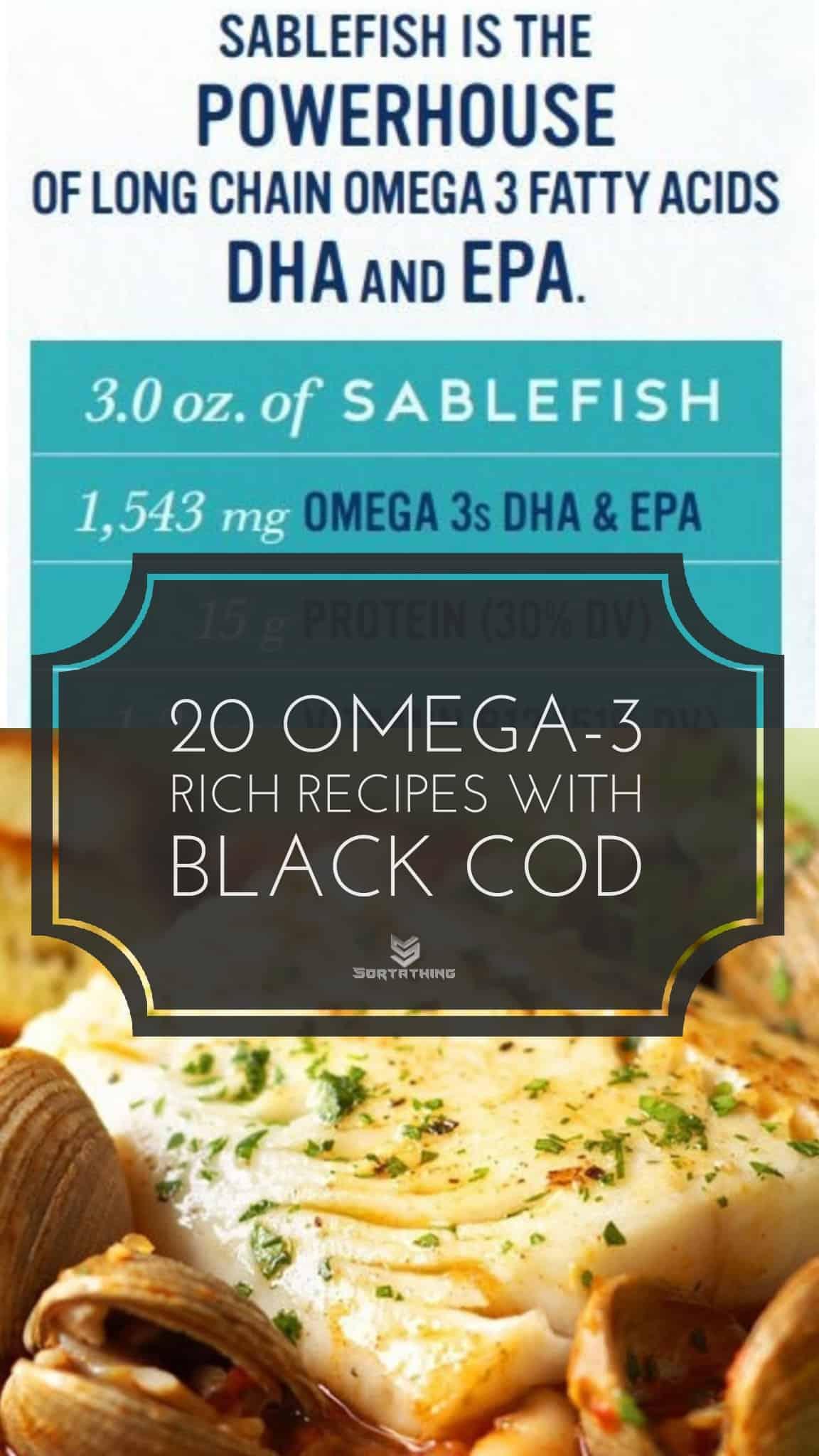 Omega-3 Packed Black Cod Recipes