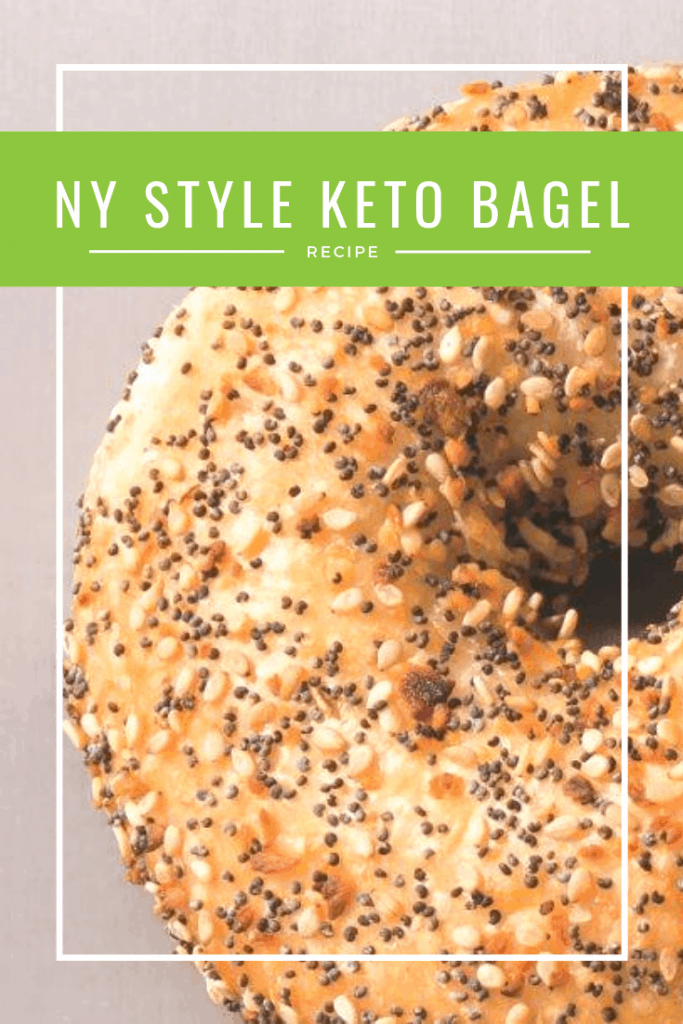 NY Style Keto Bagel with Pili Nuts