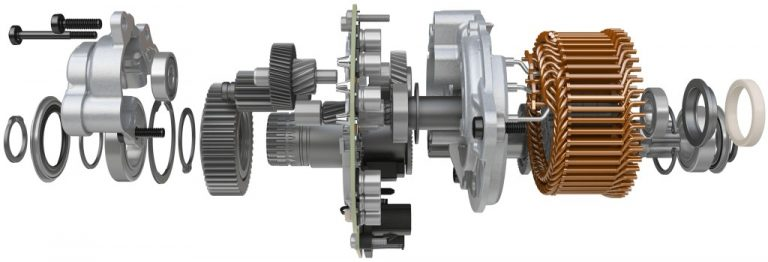 Bosch CX 2020 ebike motor exploded view