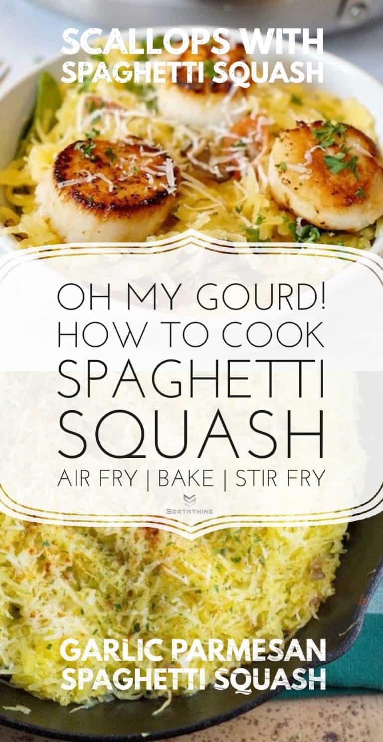 Scallops with Spaghetti Squash
