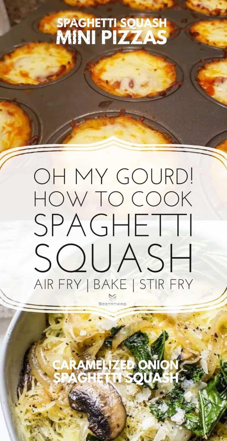 Low Carb Spaghetti Squash Pizza