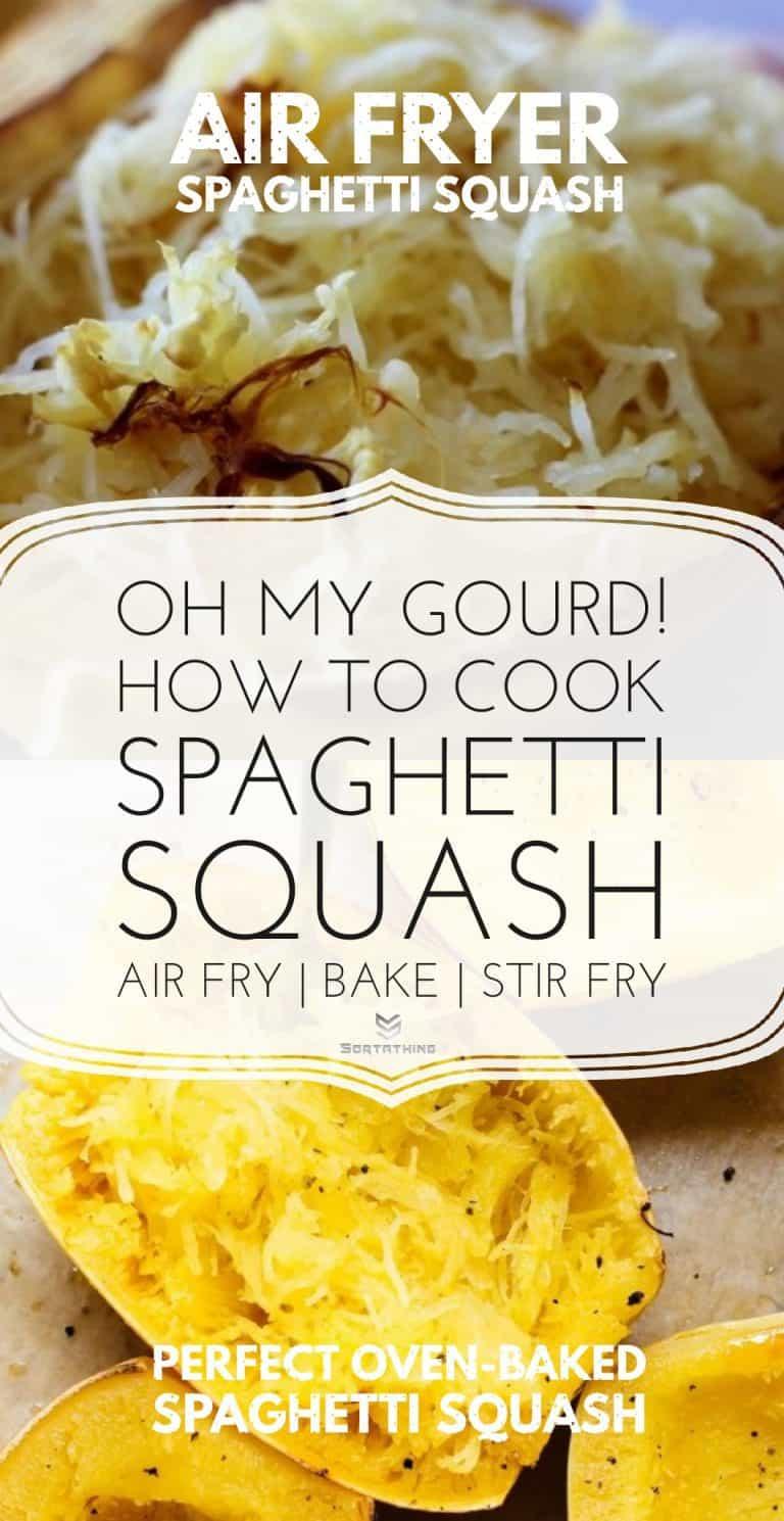 Air fryer spaghetti squash