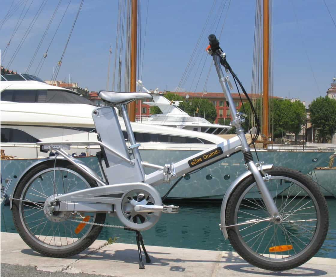 eZee Quando folding electric bike