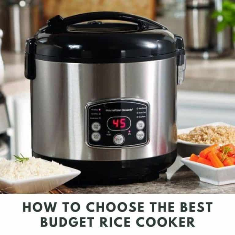 Choose the best budget rice cooker