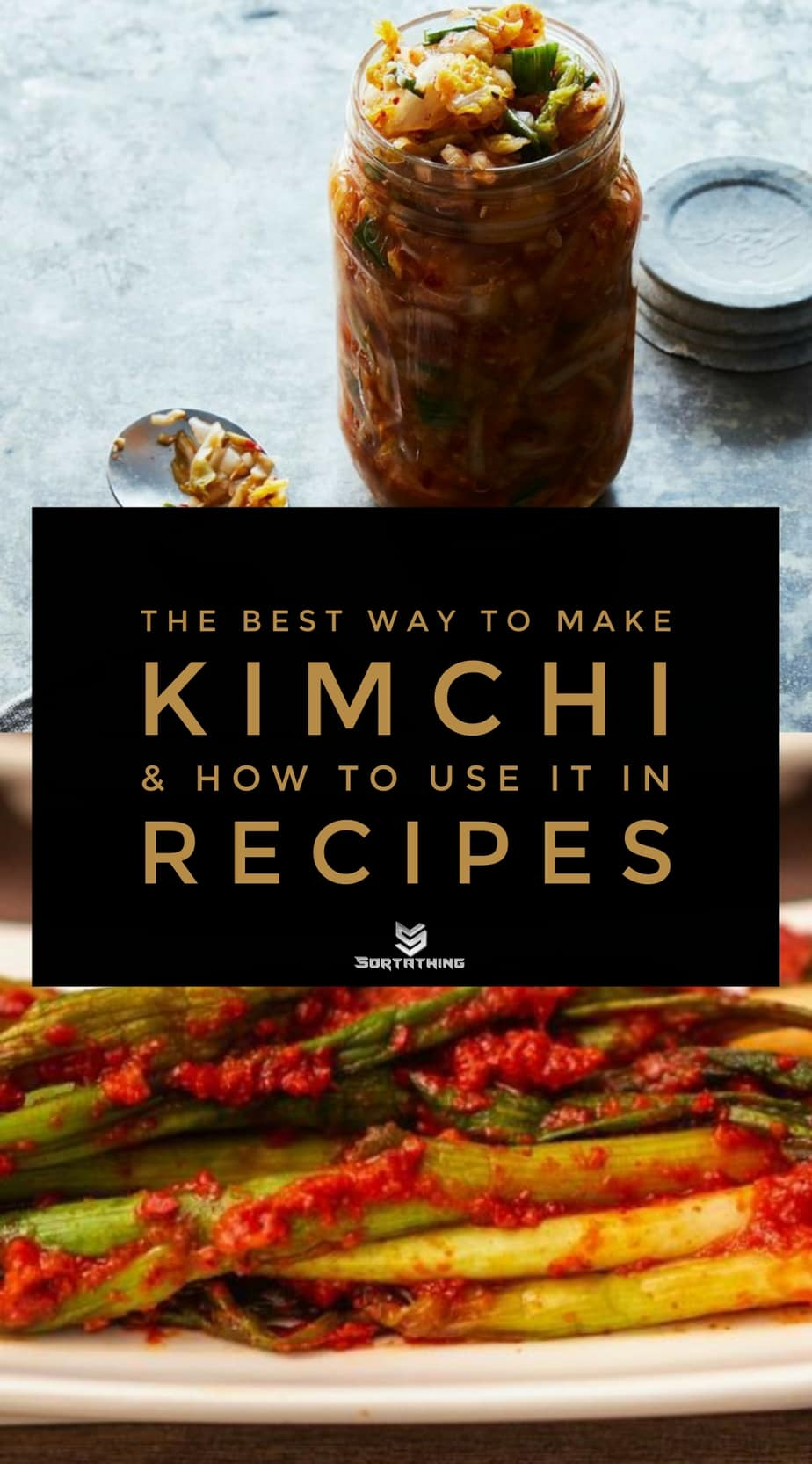 How To Make Kimchi (Mom's Best Way) and Quick Green Onion Kimchi