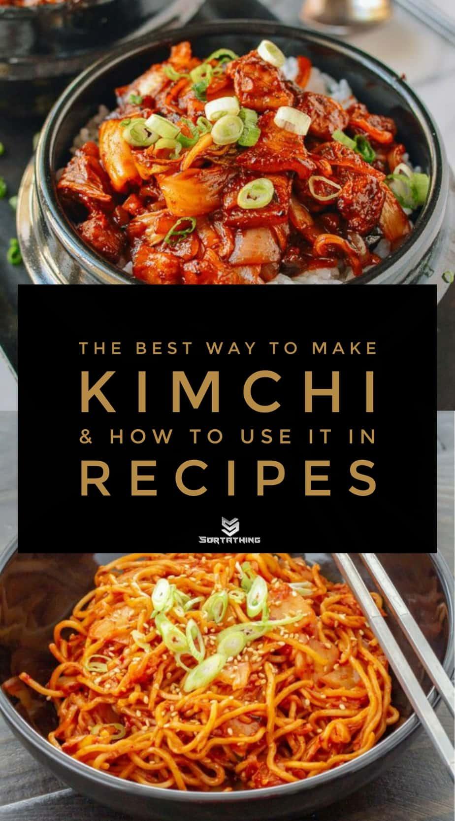 10-Minute Korean Crispy Pork Belly Kimchi Bowls and Kimchi Yakisoba