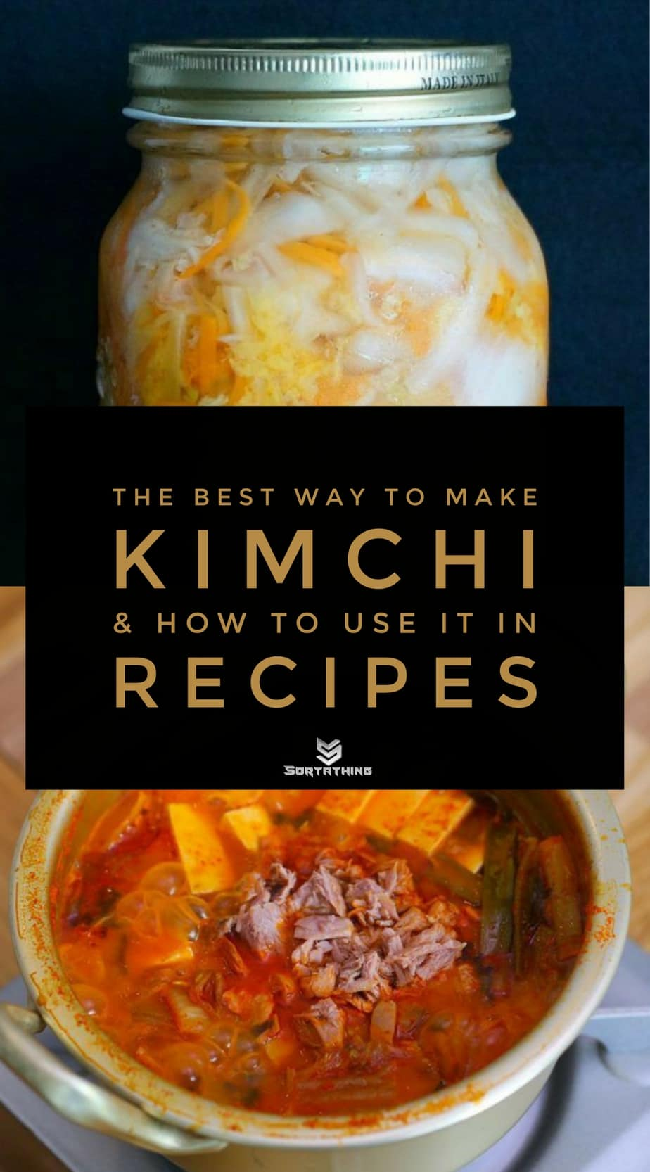 Sriracha Kimchi and Tuna Kimchi Stew