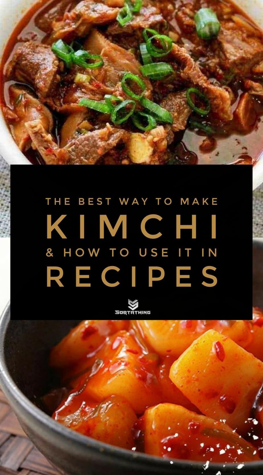 Kimchi Beef Stew and Daikon Radish Kimchi Recipe