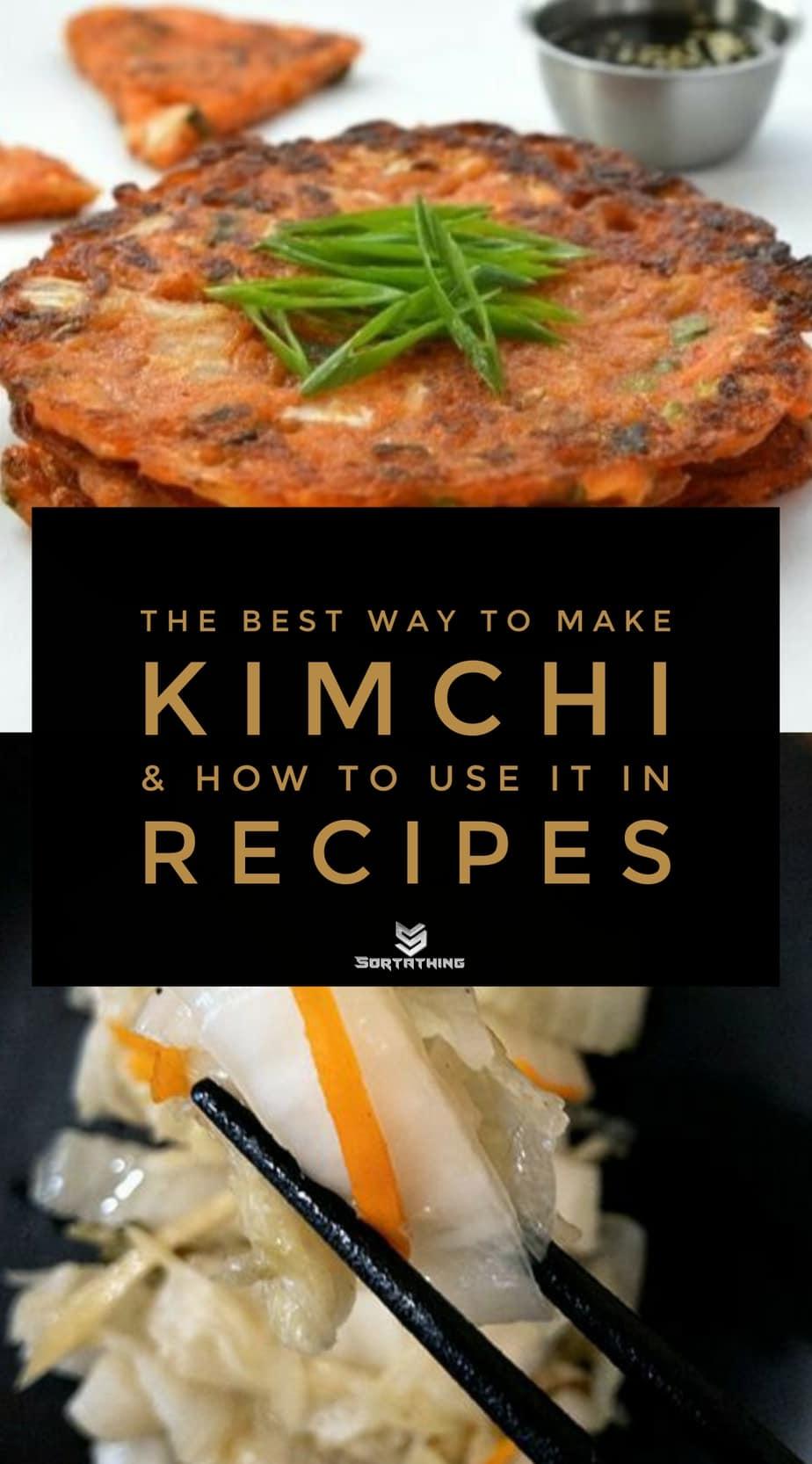 Kimchi Pancakes and Korean White Kimchi
