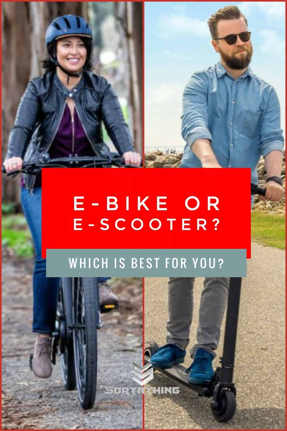 E-Bike or E-Scooter: Which is best?