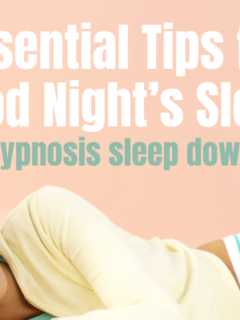 5 essential sleep tips